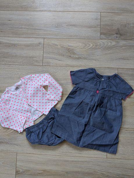 Carter's набор комплект (Платье, болеро, трусики)