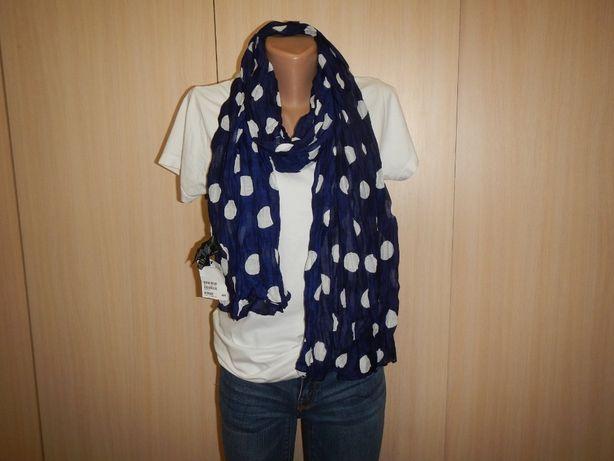 Легкий шарф в горохи h&m