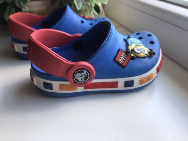 Детские Crocs Lego сандали резиновые