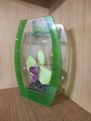 Орхидея подсвечник стекло