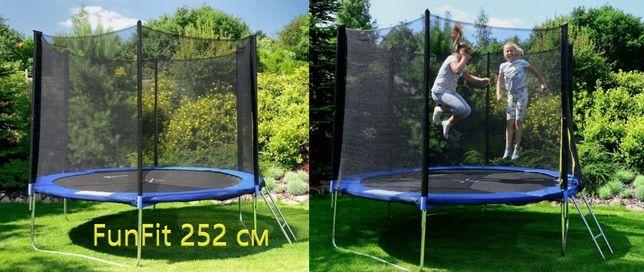 СКИДКА!! Батут FunFit 140 l 183 l 252 l 312 см для фитнеса, детский.