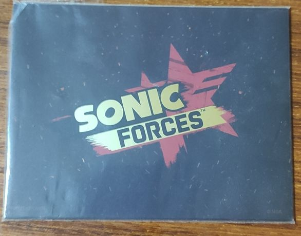 Postais Sonic Force mini (selado)