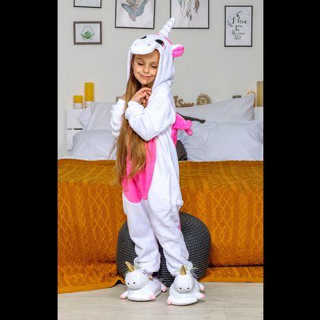 Кигуруми  пижама единорог