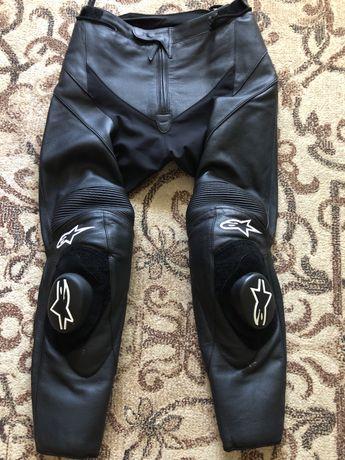 Spodnie motocyklowe ALPINESTAR męskie skórzane
