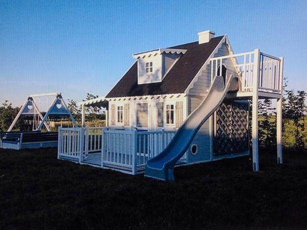 Детский садовый деревянный домик