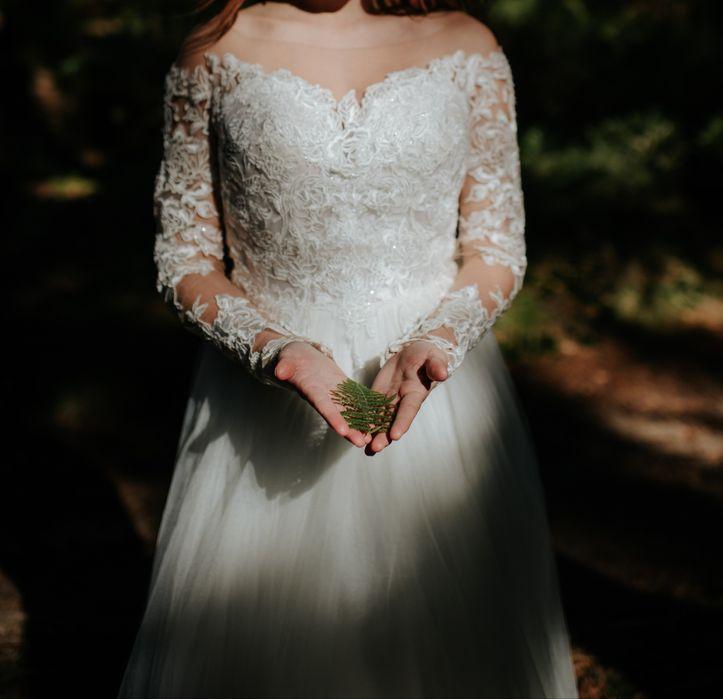 Suknia ślubna r.34 Lubin - image 1