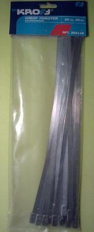 Кабельная стяжка металлическая (хомут)