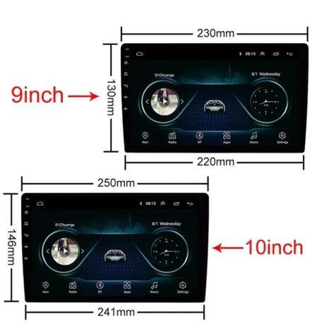 Магнитола Pioneer 8810 10 дюймов и 9 дюймов. 2din Android 10