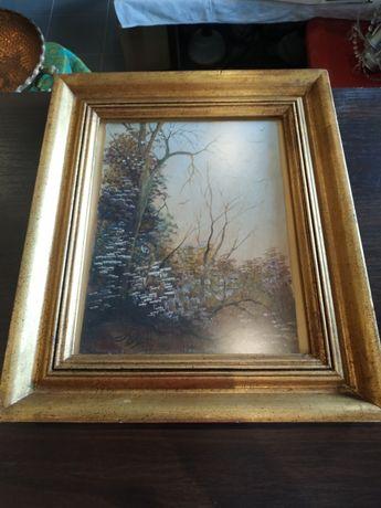Obrazek z motywem drzewa