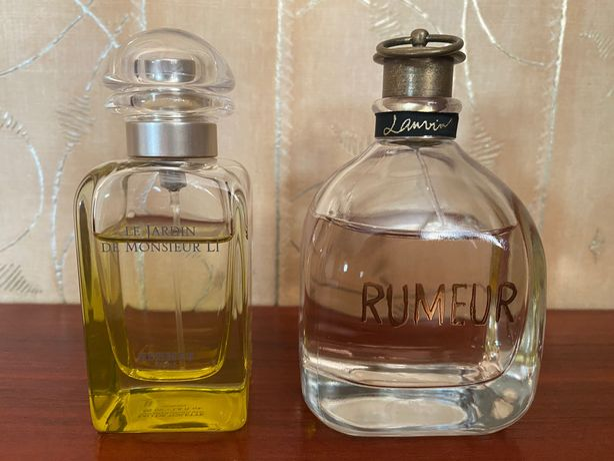 Lanvin Rumeur, Hermes Le Jardin de Monsieur Li