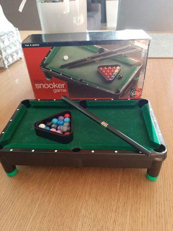 Mini snooker game bilard