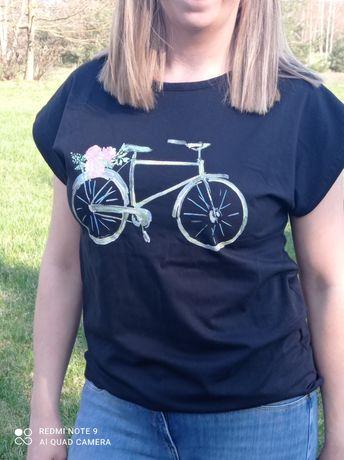 Koszulki damskie z motywem roweru  rozmiar S M L XL