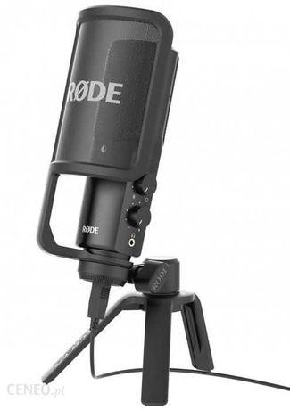 Zawodowy Studyjny Mikrofon Wokalowy Pojemnościowy RODE NT USB.Nówka