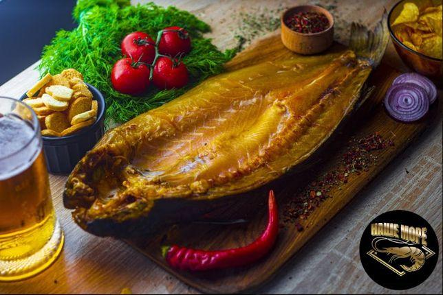 Копченая рыба: пеленгас,толстолоб,вомер,красноглазка,карась,окунь.