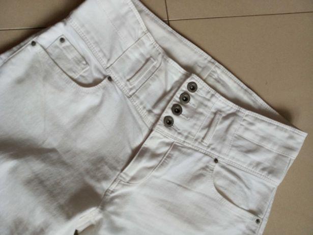 Białe spodnie Orsay 34