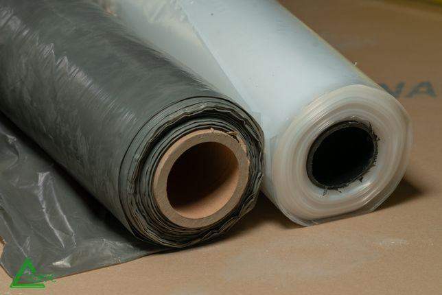 Пленка строительная черная, серая, белая 1,5 м, 30 – 200 мк