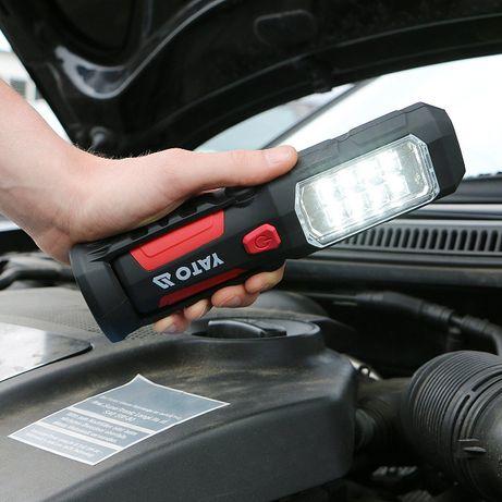 LED Светодиодный фонарь аккумуляторный. Степень защиты: IP 20.