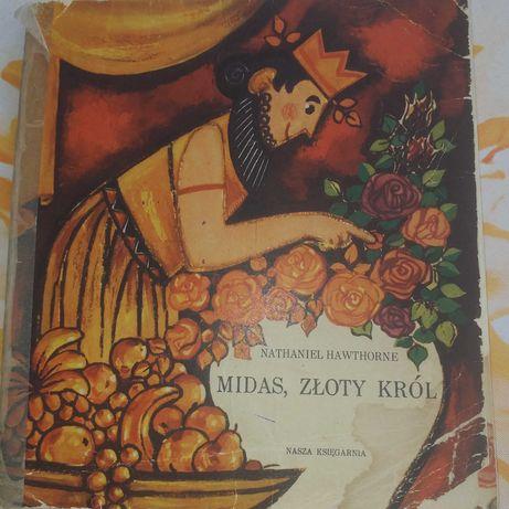 """Książka """"Midas złoty król"""" Nathaniel Hawthorne"""