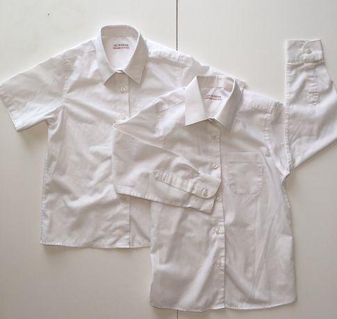 Белая рубашка 6 7 лет