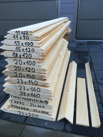 Deska elewacyjna 170mm x 20mm taras podłogowa ELEWACJA osb
