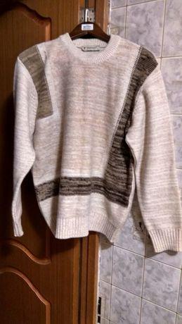 Свитер тёплый рубашки