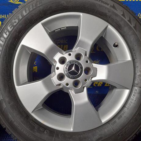 Диски 5x112 R17 Mercedes GLK Vito Viano з шинами Bridgestone