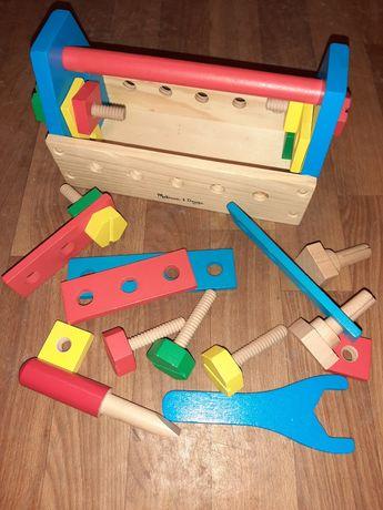 Melissa & doug набор инструментов деревянный