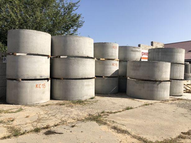 Бетонные канализационные кольца, блоки