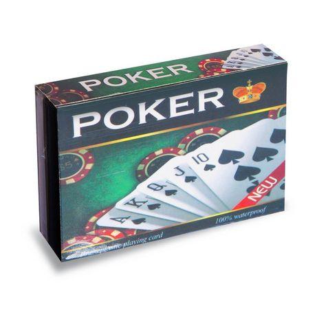 пластиковые карты для покера 54 карт- карты игральные