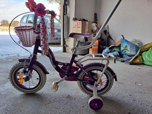 Rower 12' dla dziewczynki