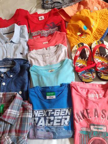 Lote de roupa + de 30 peças verão 2/3 A inverno 3/4 Anos.