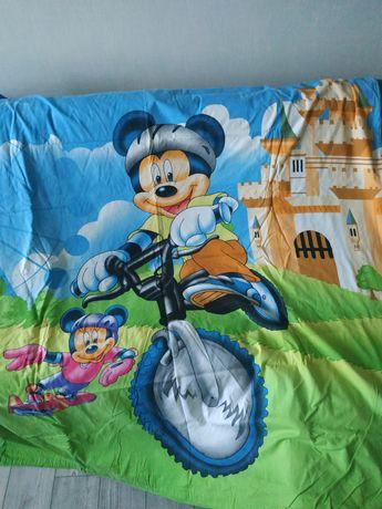 Постельное белье детское с Микки Маусом