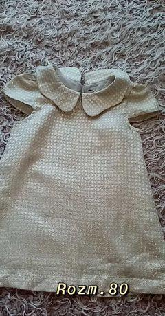 Sukienka zlota hm