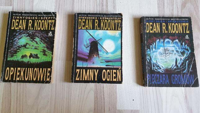 Seria książek Dean R Koontz. Thriller horror. Stan dobry i bdb. Okazja