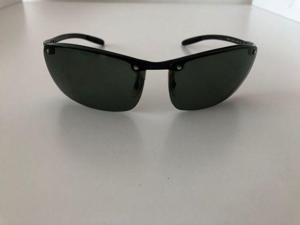 Óculos Sol Ray Ban RB8306 Fibra de Carbono Lentes Polarizadas