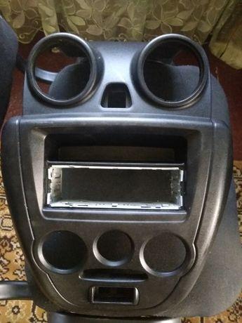 Лада гранта панель крепления радио