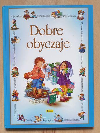 Dobre obyczaje książka dla dzieci bon ton
