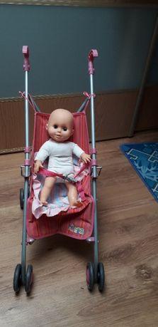Metalowy wózek dla lalek