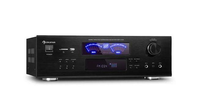 Wzmacniacz stereo AMP 5100 BT, 2 x 120 W + 3 x 50 W RMS, Bluetooth