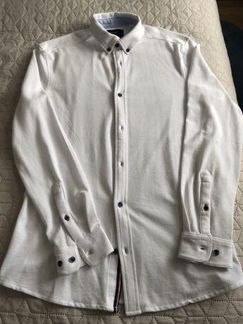 Koszula męska biała r. L Reserved