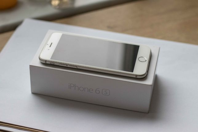 iPhone 6s 64 GB silver Super Stan!
