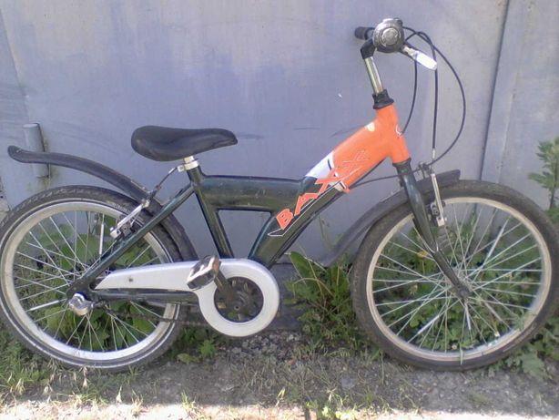 """Велосипед детский 20"""" алюминиевый из Германии на планетарной втулке."""