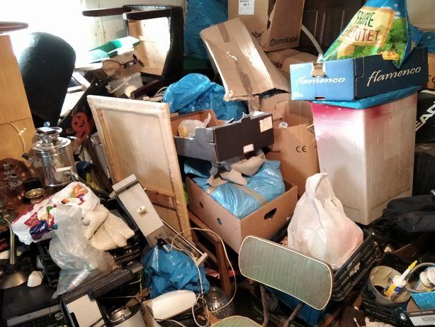 Opróżnianie sprzątanie mieszkań garaży piwnic