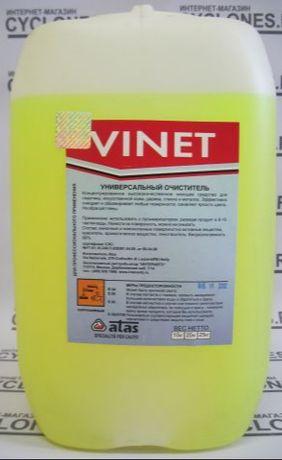 Средство для химчистки салона VINET 20кг ― очиститель пластика...