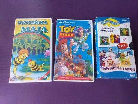 Filmy FHS dla dzieci Teletubisie, Pszczółka Maja, Toy Story