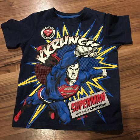 Детская футболка на 2-3 года superman dc comics marvel