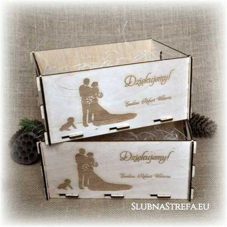 pudełko, koperty, ślub, świadek, wesele, drewniane pudełko