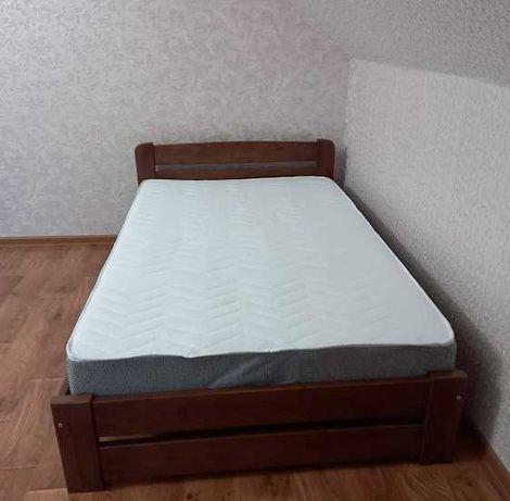Кровать деревянная 140х200см.
