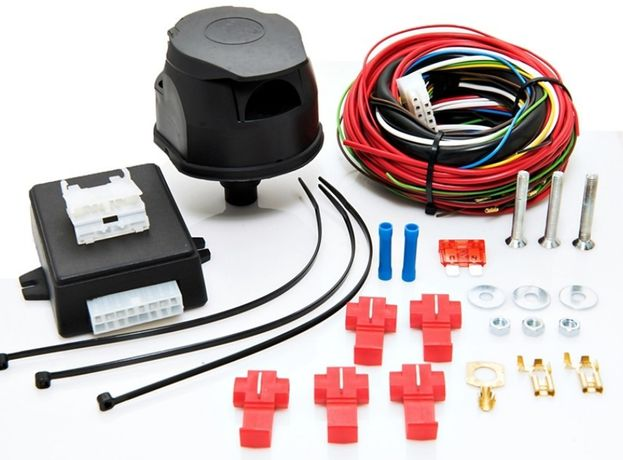 Электрика фаркопа, модуль (блок) согласования, розетки и переходники