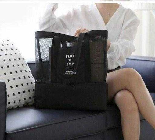 Брендовая женская сумка Play&Joy 2в1 пляжная-сумка-холодильник